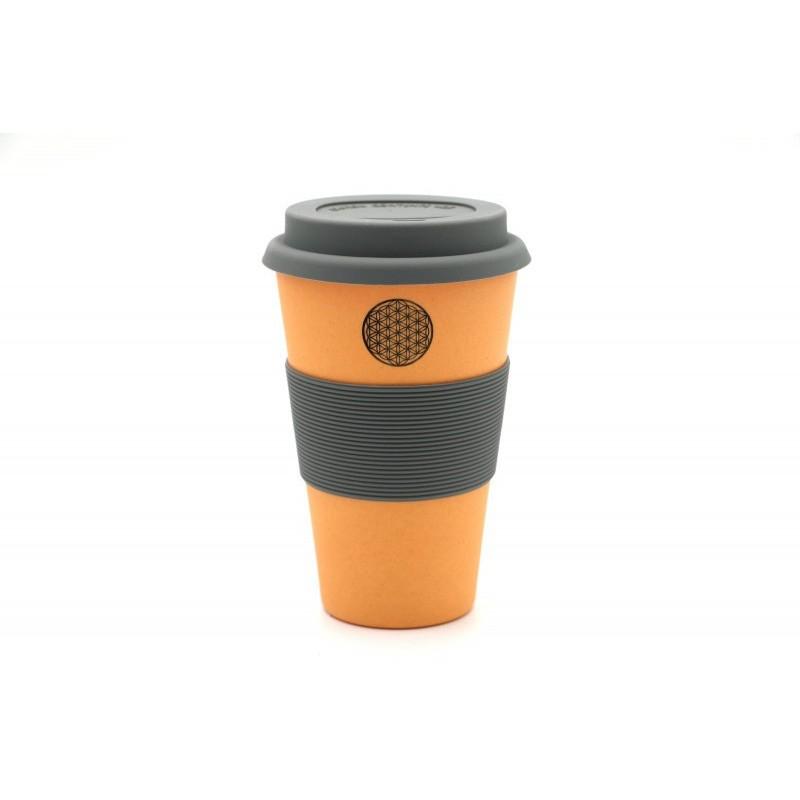 coffee to go becher flower of life aus bambus wohlf hlst cke wohnen leben mondhaus shop. Black Bedroom Furniture Sets. Home Design Ideas