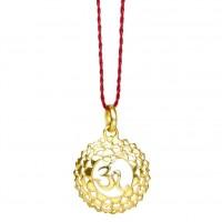 Chakra Anhänger Vergoldet