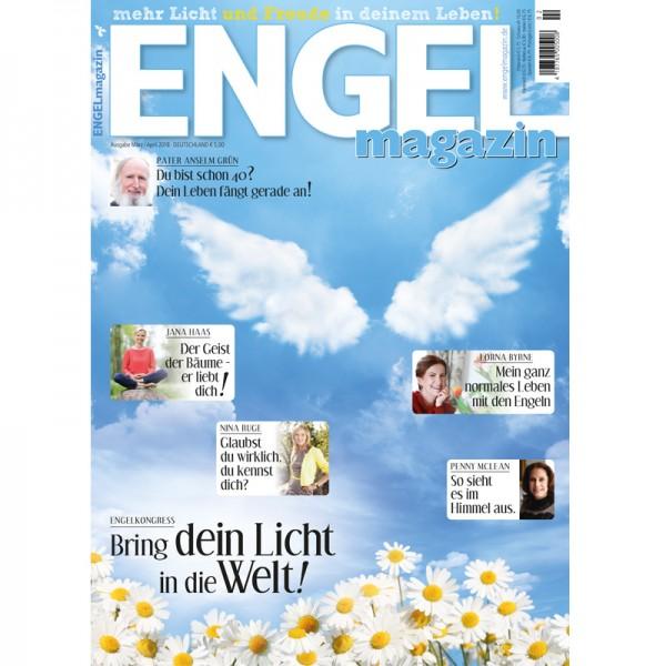 Engelmagazin März April 2018, Jana Haas, Penny McLean, Lorna Byrne