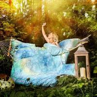 Bio-Baumwolle Bettwäsche Faszination Blue Dream; ENGELmagazin