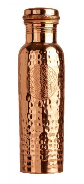 Trinkflasche aus Kupfer, 900ml