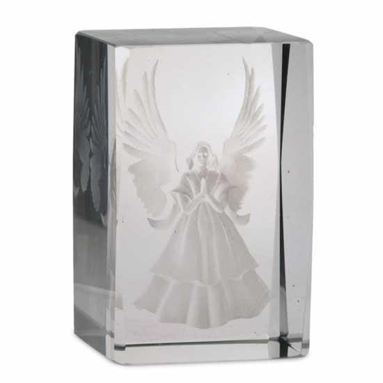 Kristall laser gesegnete Engel