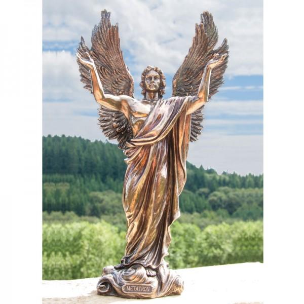 Engelfigur Erzengel Metatron, Kunstharz