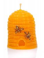 Bienenwachskerze Bienenkorb mondhaus-shop