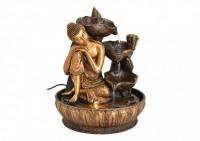 Zimemrbrunnen Buddha der Gelassenheit mit LED-Beleuchtung
