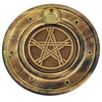 Räucherstäbchenhalter - Pentagramm