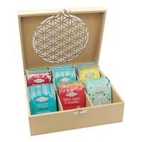 Teebox gefüllt mit Shoti Maa Teemix; ENGELmagazin