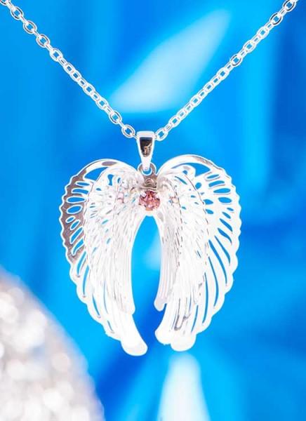 Schmuck Anhänger Engelflügel in Silber