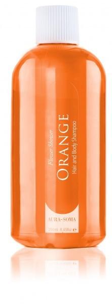 Aura-Soma Flower Shower Orange Duschgel