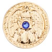 Engeltaler 24 Karat vergoldet mit Swarovski-Elemente, Glücksbringer Schutz