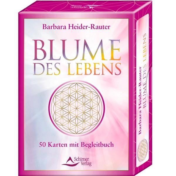 Kartenset Blume des Lebens - Barbara Heider-Rauter
