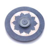 Räucherstäbchenhalter aus Speckstein und Perlmutt für Räucherstäbchen