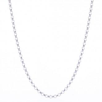 Silberkette 90cm